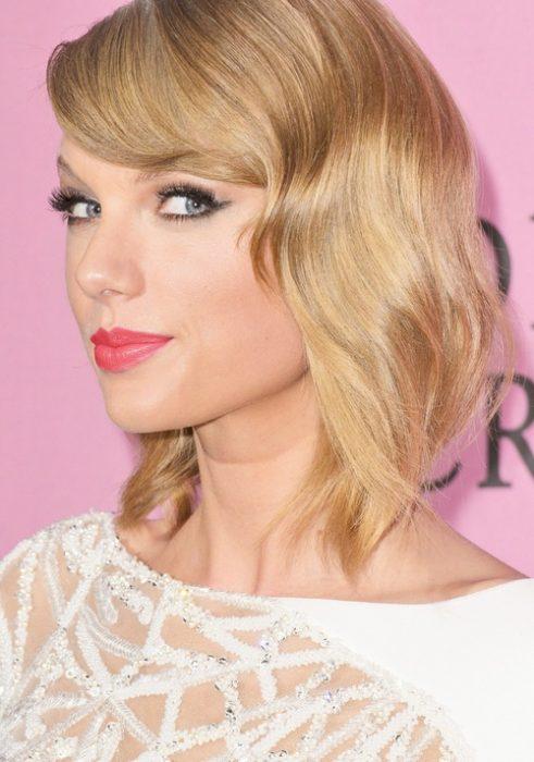 Taylor Swift con un corte bob.