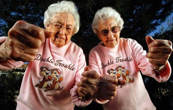 amigas ancianas