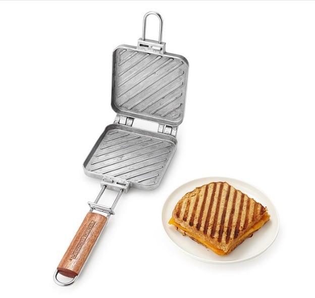 sandwichera para fuego