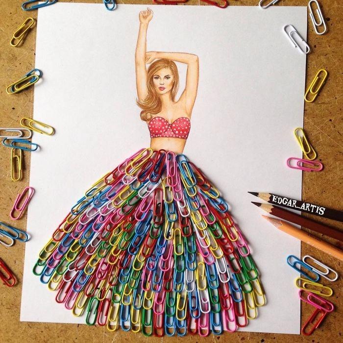 25 Best Ideas About Princess Dress Up Games On Pinterest: 30 Increíbles Diseños De Vestidos Hechos Con Comida