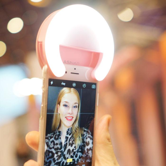 anillo de luz para iphone