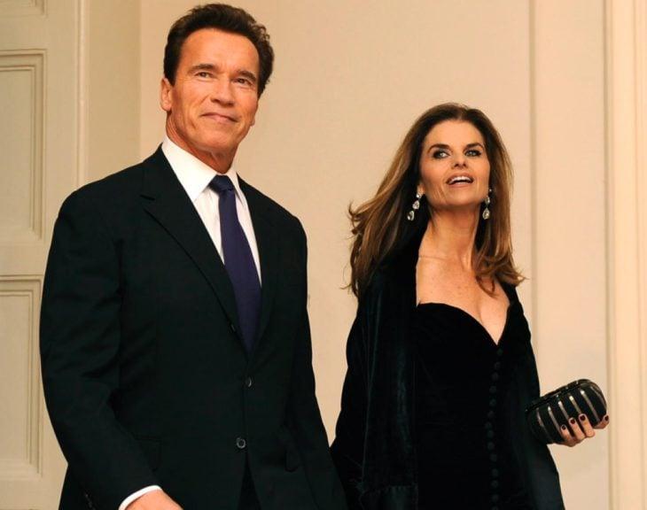 Arnold Schwarzenegger y Maria Shriver.