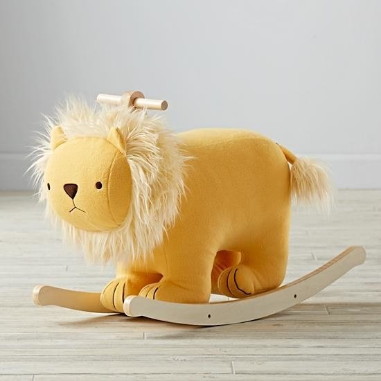 Lion rocking chair for the future member of Gryffindor