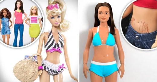 Conoce a Barbie y a Lammily, muñecas realistas