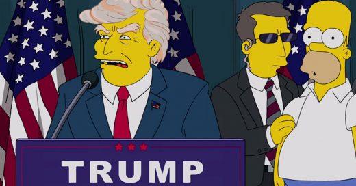 El momento exacto en que Los Simpson predijeron el triunfo de Donald Trump 16 años atrás