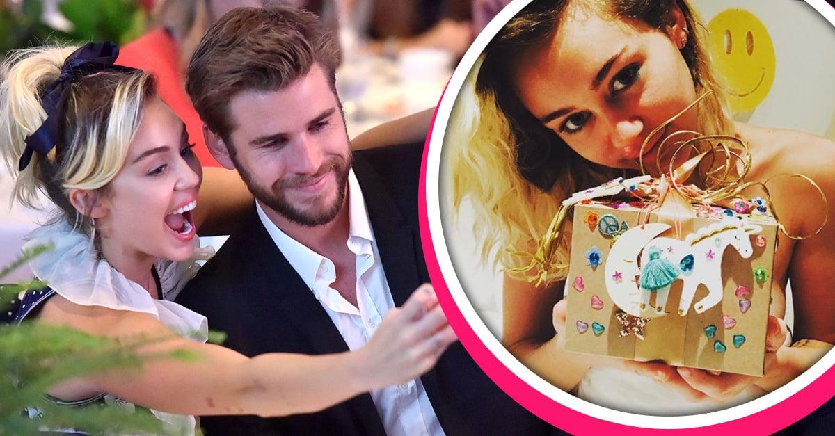 El regalo de cumpleaños de Liam Hemsworth para Miley Cyrus es lo más tierno que verás hoy