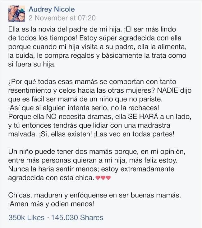 Ella Escribio Una Poderosa Carta Para La Novia De Su Ex