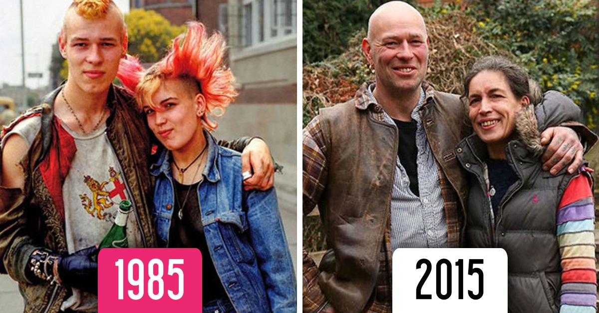 Fotógrafo recrea imágenes después de 30 años