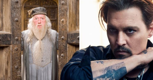 Johnny Depp se integra al mundo mágico de Harry Potter ¡Interpretando al gran amor de Dumbledore!