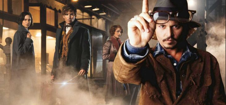 Johnny Depp and Fantastic Beasts and Where to Find Them