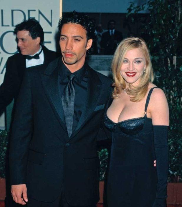 Madonna and Carlos Leon.