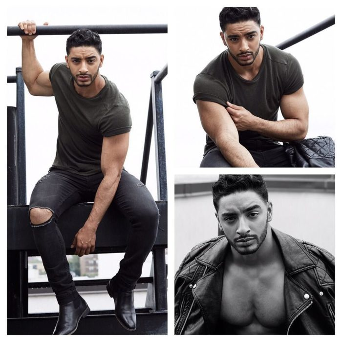 Laith Ashley De La Cruz en unas escaleras