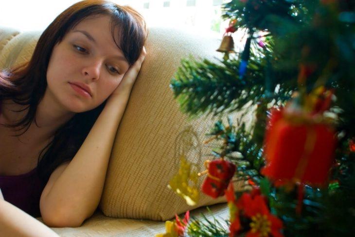 Navidad sola
