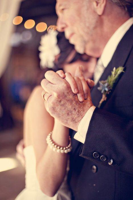 Padre e hija boda