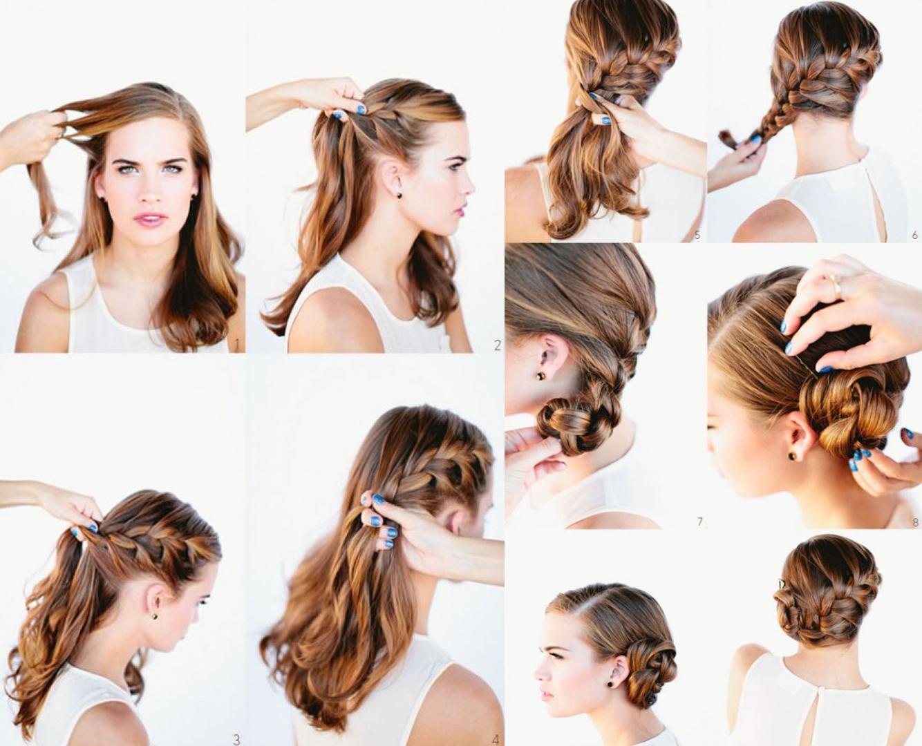 15 peinados con trenzas que puedes lucir esta navidad - Peinados y trenzas ...
