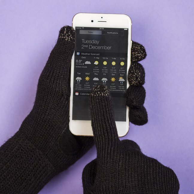 Gloves for use with your cell touch