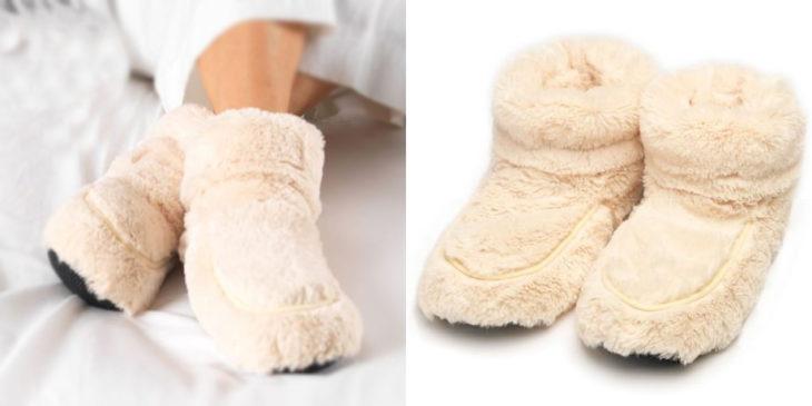 Pantuflas para el frío