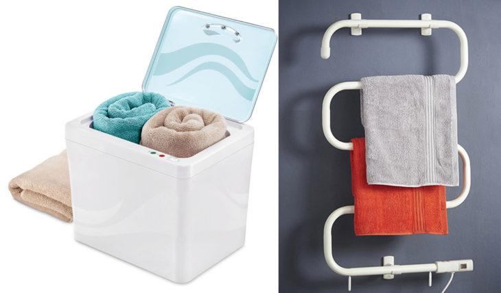calentador de toallas eléctrico