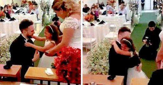"""Conmovedora historia de amor. Recién casado hace proposición a pequeña de 6 años """"¿quieres ser mi hija para siempre?"""""""