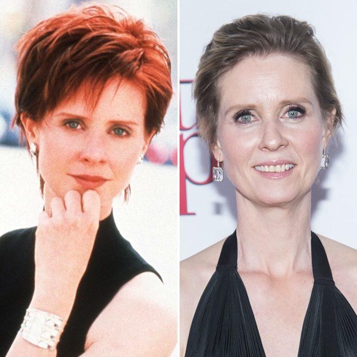 Cynthia Nixon antes y después