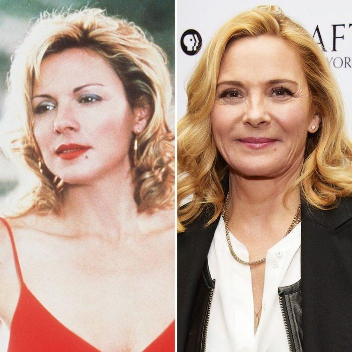 Kim Cattral antes y después