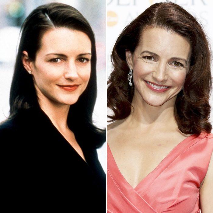 Kristin Davis antes y después