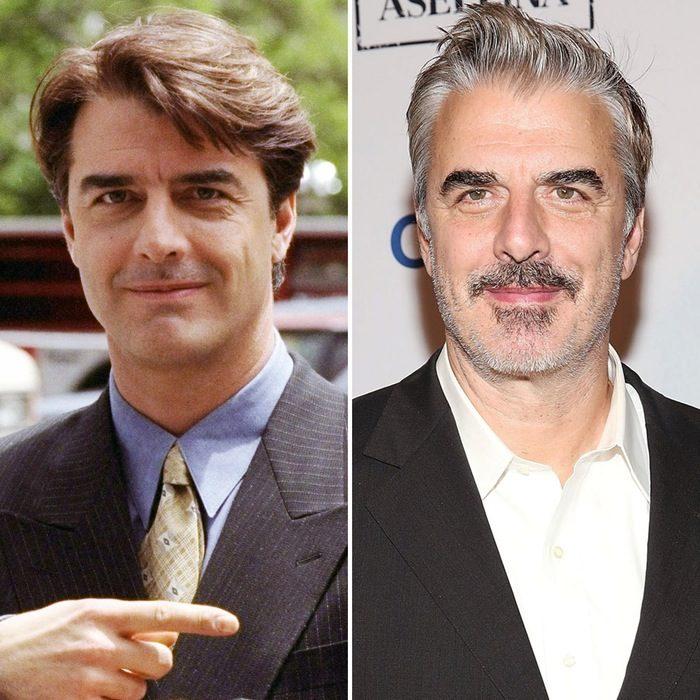 Chris Noth antes y después