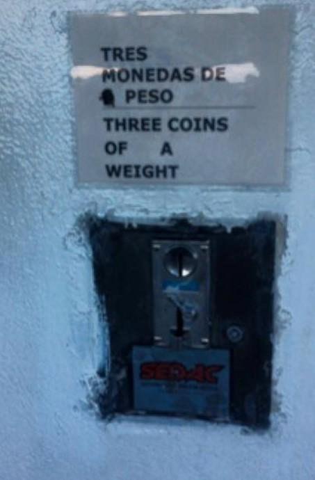 Monedas de peso