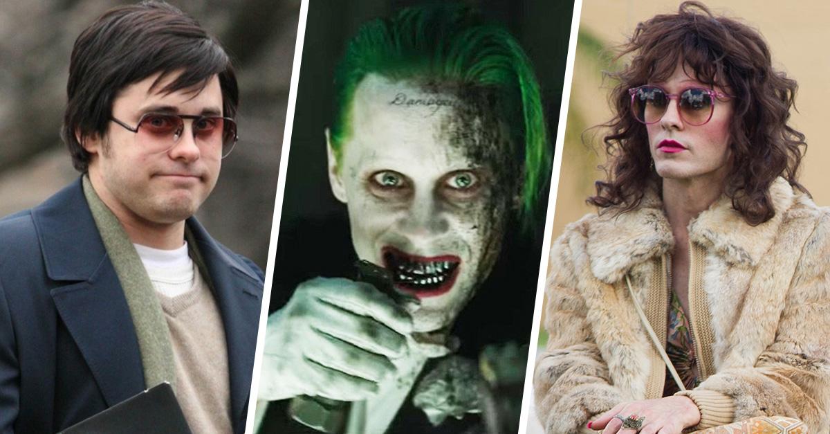 Actores que dominan el arte del disfraz