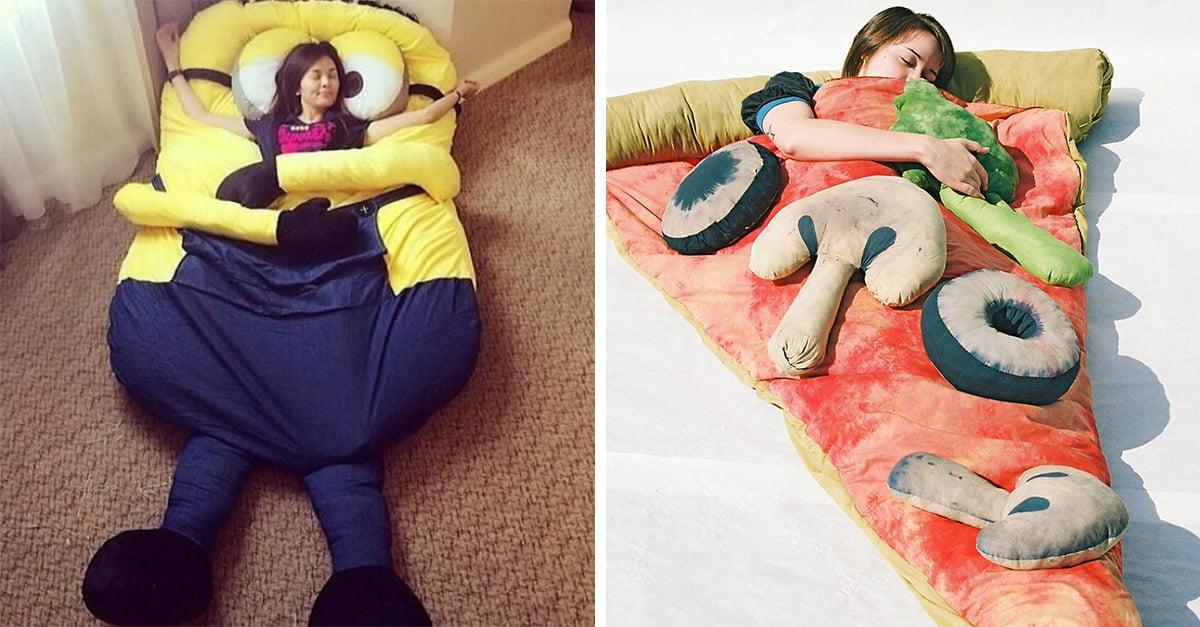 15 bolsas de dormir originales para grandes y chicos