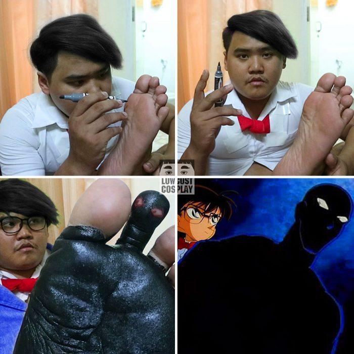 Disfraz de Conan.