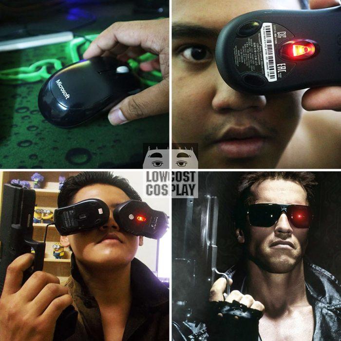 Disfraz de Terminator.