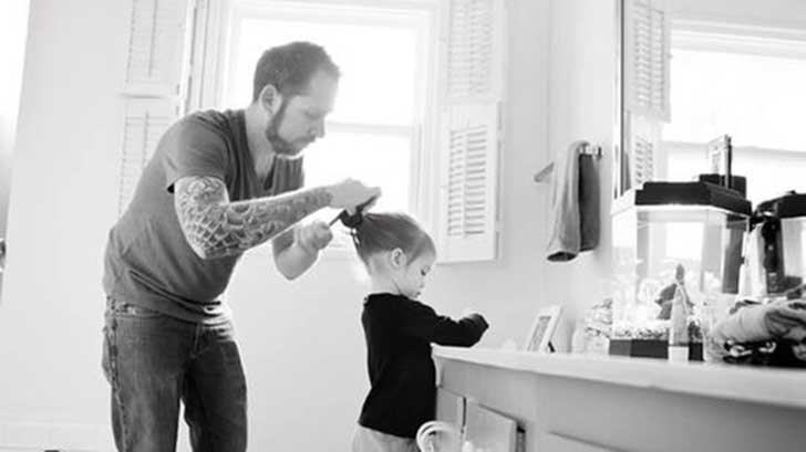 papá e hijita