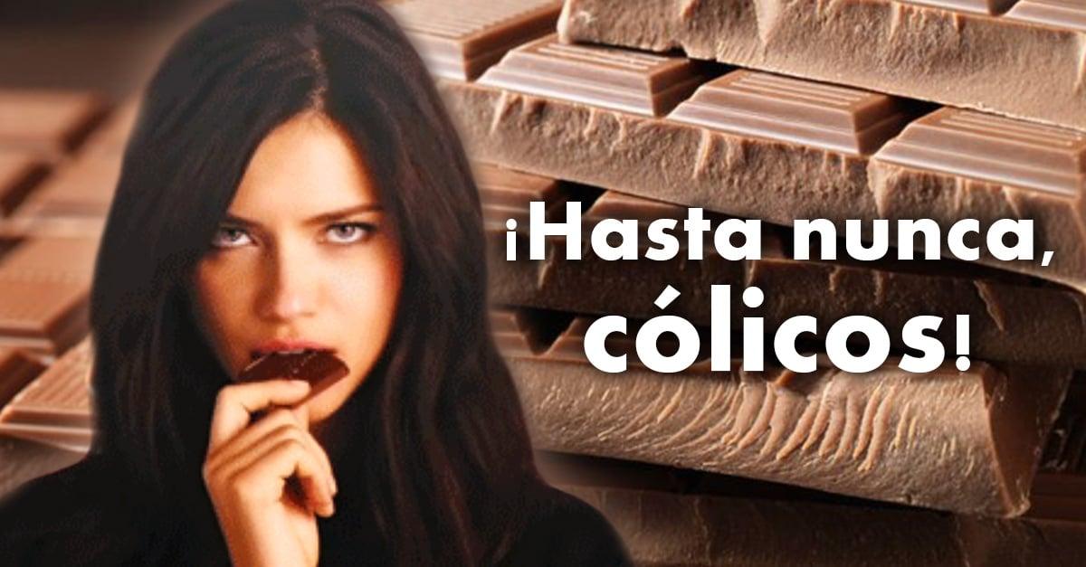 Este chocolate que acaba con los cólicos menstruales ¡es el mejor invento del mundo!
