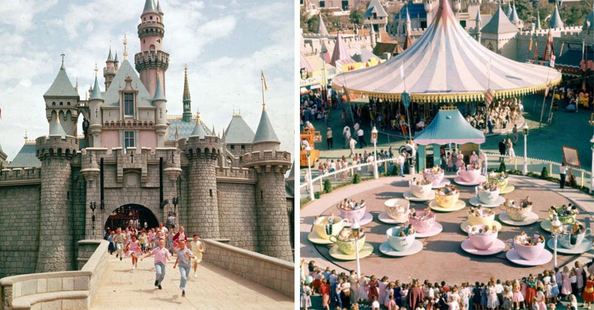15 Imágenes que muestran cómo era Disneyland en 1955
