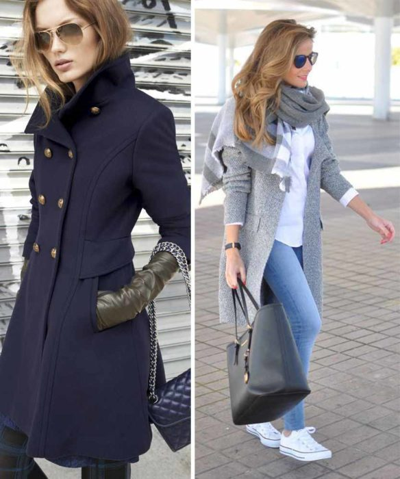 Coats of different styles.