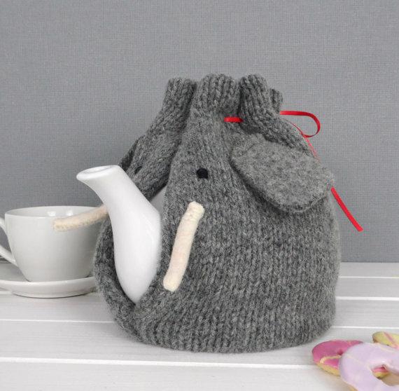Protector de elefante para tu cafetera.