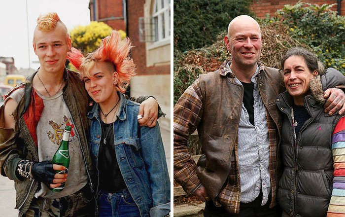 punks before couple after 30 years