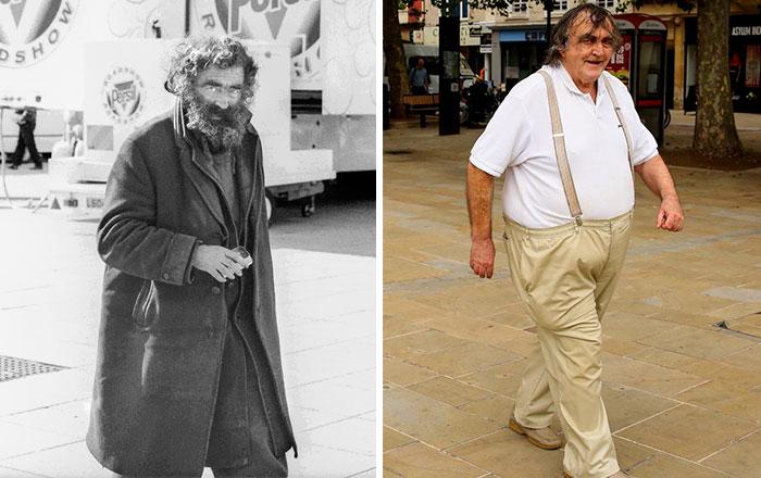 hombre antes y después 30 años