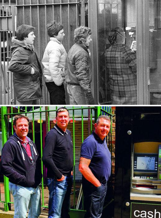 hombres antes y después 30 años