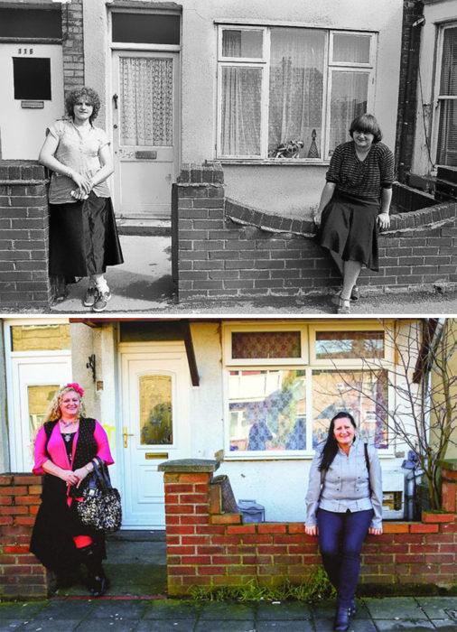 amigas antes y después 30 años