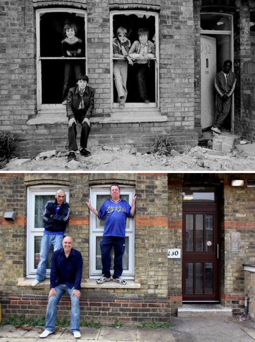 hermanos antes y después 30 años