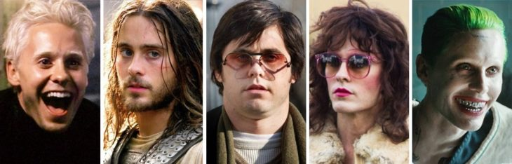 Jared Leto different characters