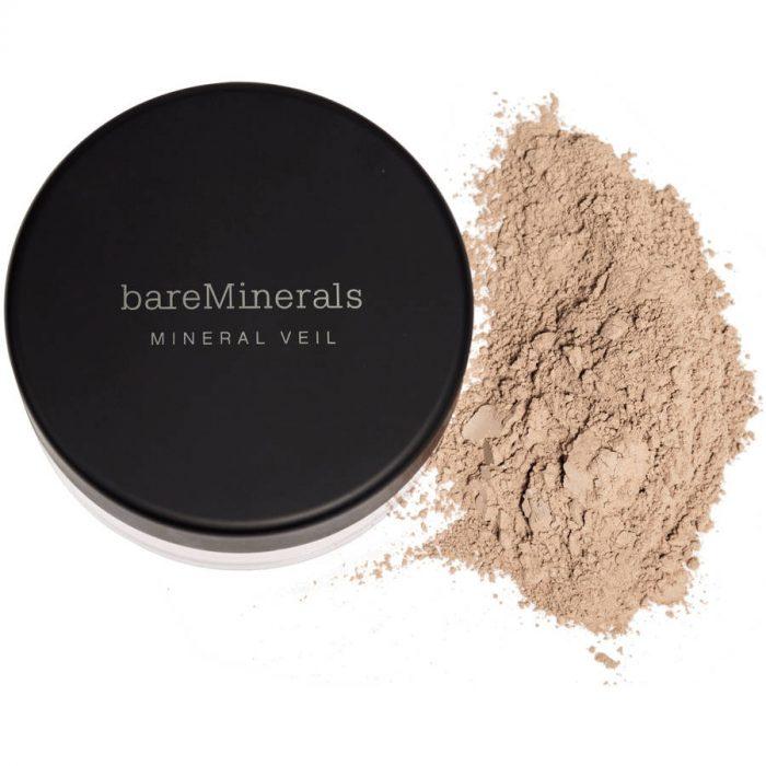 mineral powders.