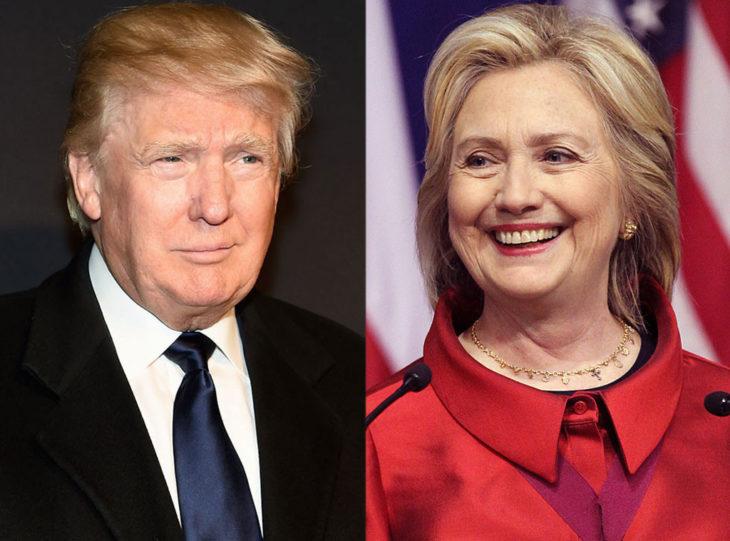 Hillary y Trump.