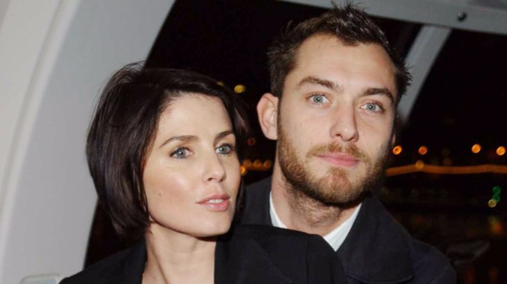 Jude Law y Sadie Frost