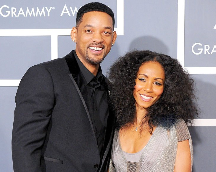 Jada Pinkett Smith y Will Smith.