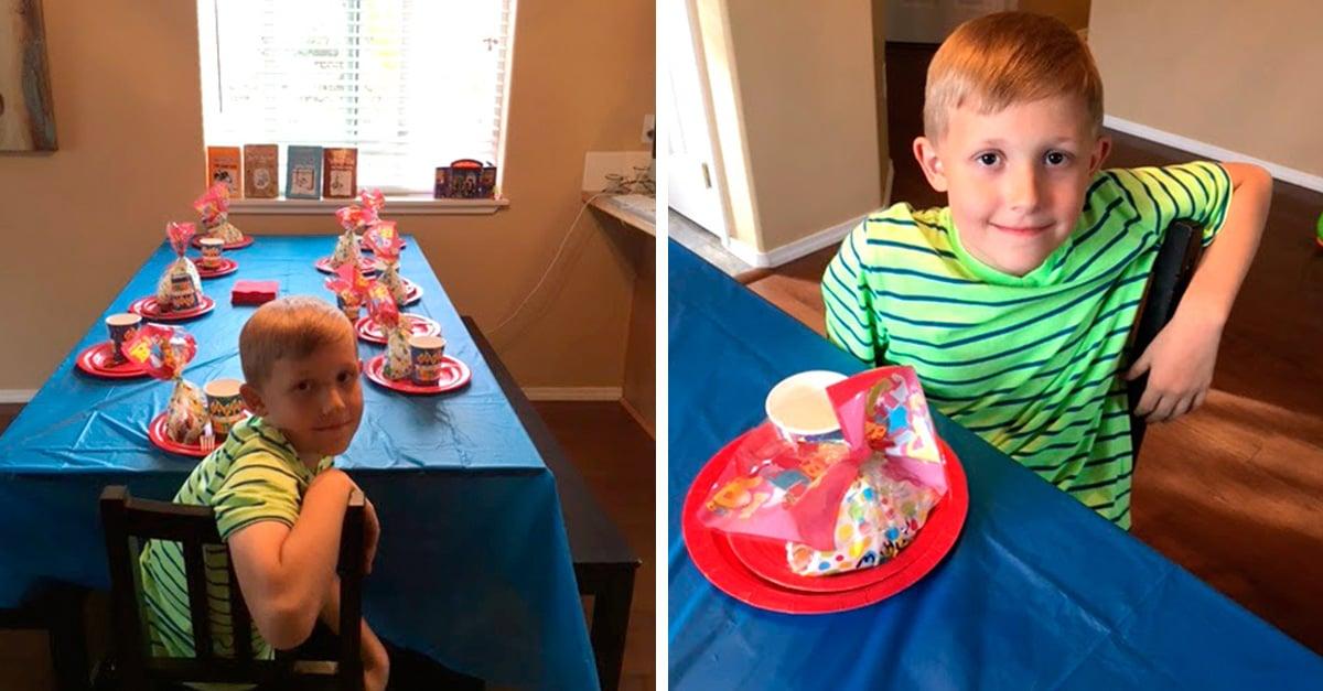 Nadie asiste al cumpleaños de su hijo y esta es la respuesta de una madre desilusionada