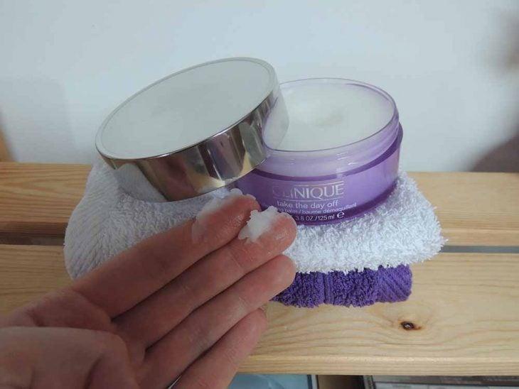 Clinique makeup remover.