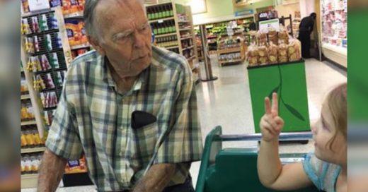 Una niña lo llamó 'viejo', y lo que pasa después ¡es una de las historias más lindas del año!